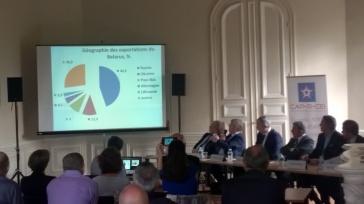 présentation du marché du Belarus par le premier Conseiller