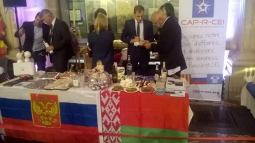Le stand Russie Belarus