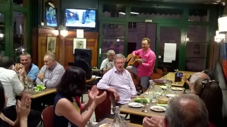 Pierre Solignac et Dimitri anime avec des chansons russes