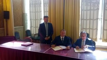 Signature de la lettre d'intention entre la ville de Moscou et la ville de Marseille